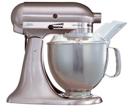 KitchenAid Artisan køkkenmaskine børstet nikkel 4,8 L