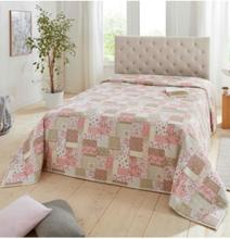 Päiväpeitto - roosa - Gr. 135 x 210 cm von Textil Dohle + Menk