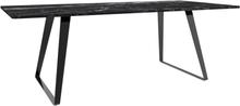 Matbord Duffy 200 cm - Svart