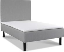 Cloud ramsäng 90 cm med sänggavel - Pocketsystem