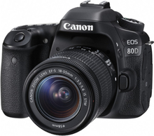 Canon EOS 80D Kit (EF-S 18-55mm IS STM)