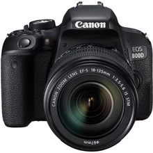 Canon EOS 800D Kit (EF-S 18-135mm IS STM)