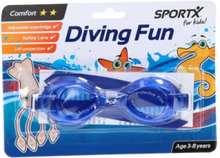 SportX Kids Swimming Goggles Comfort-Blue