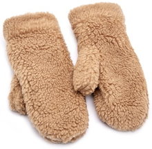 Pieces Rubita Mittens Natural One size