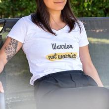 T-shirt dame hvid M