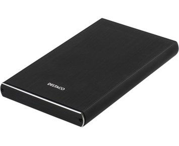 "Deltaco MAP-GD49C 2,5"" USB-C, USB 3.1"