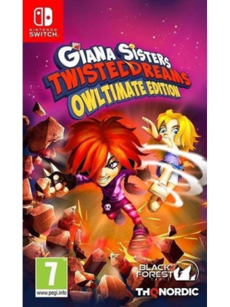 Giana Sisters: Twisted Dreams - Owltimate Edition - Nintendo Switch - Toiminta