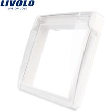 Livolo EU Standard Socket Waterproof Cover,Plastic Decorative For Socket, 4 colors ,C7-1WF-11/12/13/15,do not include the socket