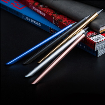eeshian Full Metal Inkless Beta Pens Without Ink No-ink Painting Writing Papelaria Caneta Office & School Supplies IM01