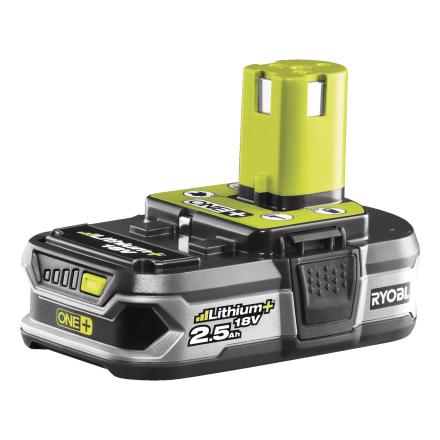 Batteri Ryobi One+ 18V 2,5AH RB18L25