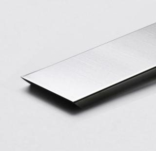 U-Profil till Vetro Glasblock 220cm aluminium