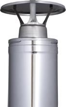 Regnskydd Harvia För Rökrör 115mm Rostfri WZ030115