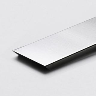 U-Profil till Vetro Glasblock 125cm rostfi borstad