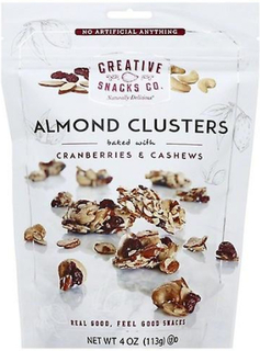 Creative Snacks Co. Creative Snacks Co. mandel kluster bakat med tr...