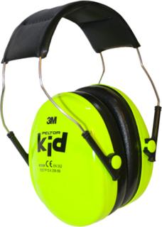 Hörselskydd 3m Peltor Kid Grön