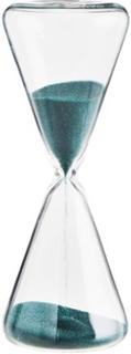 Madam Stoltz Timeglass Ø 4,6 cm - Mørkegrønn