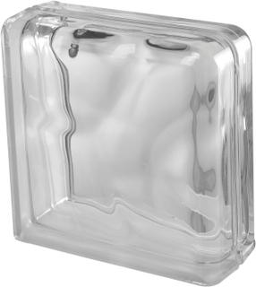 Ändglasblock Vetro Moln Klar Dubbel