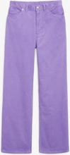 Yoko corduroy trousers - Purple
