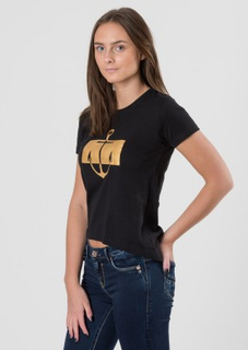 WAY INK Girl, Mya SS Tee, Svart, T-shirt/Linnen till Tjej, 170-176 cm