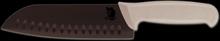 Kockkniv 18cm med räfflat blad