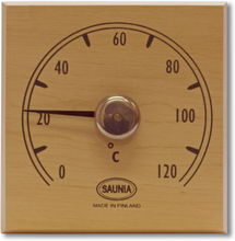 Bastutermometer Saunia Al