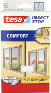 Insektsnät Tesa Comfort För Utgående Fönster Vit