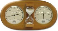 Bastutermometer Saunia Med Hydrometer Och Timglas