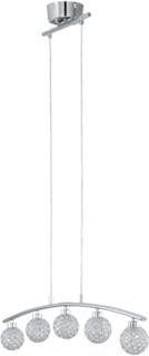 Taklampa Eglo Beramo 1 Led G9 5x33W Krom/Klar Rak