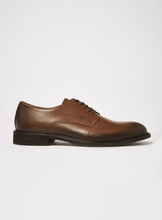 SELECTED HOMME Tan Leather Baxter Derby Shoes