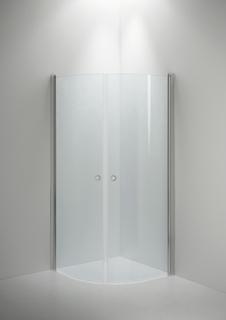 Duschvägg INR Linc Niagra 90x90 Klarglas/Blank