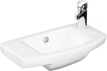 Tvättställ Gustavsberg Logic Vit 500X270 Vänster