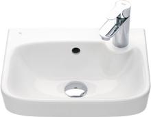 Tvättställ Ido Glow 400 Kvadrat Höger