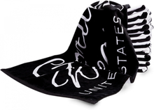 Gorilla Wear Gym Towel Black & White - Håndduk til trening