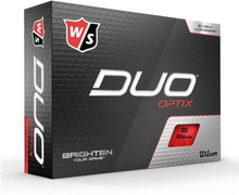 Wilson Staff DUO Optix Golf Balls 12 Pack Red