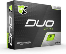 Wilson Staff DUO Optix Golf Balls 12 Pack Green