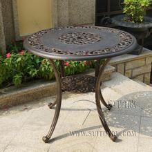 Cast aluminum table patio furniture garden furniture Outdoor furniture durable fashion outdoor table