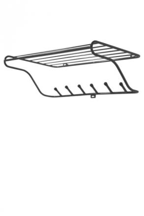 Maze Hat Rack hatthylla svart