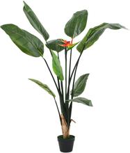 vidaXL Konstväxt papegojblomma 155 cm