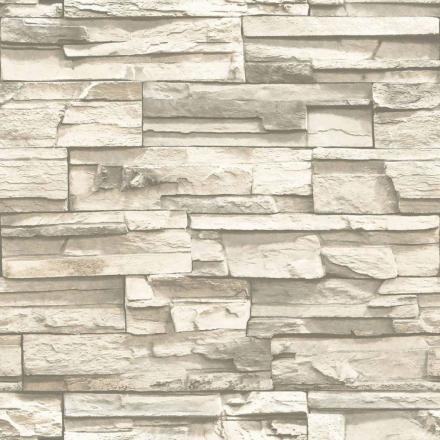 RoomMates klistertapet naturlig sten beige RMK9026WP