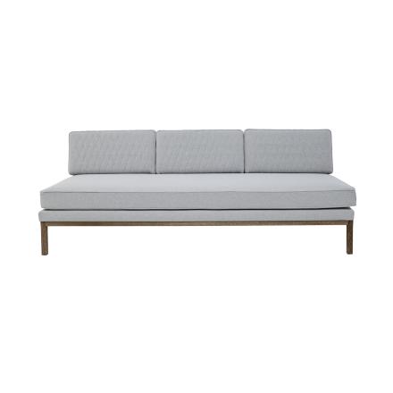 Bloomingville Sofa Grå Polyester Ramme i Røkt Eik