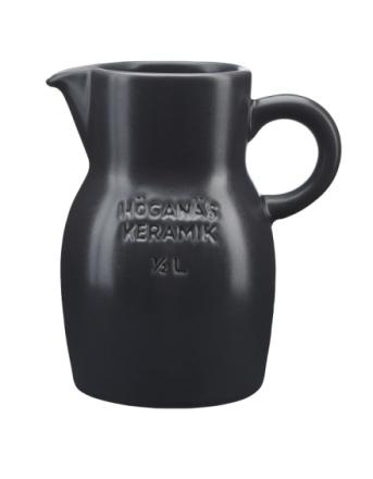 Høganæs Keramikk Grafittgrå Mugge 50 cl