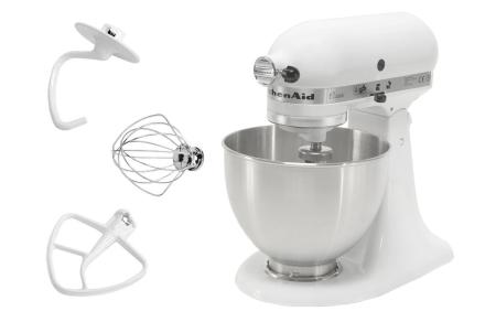 KitchenAid Classic Kjøkkenmaskin Hvit 4,28 Liter