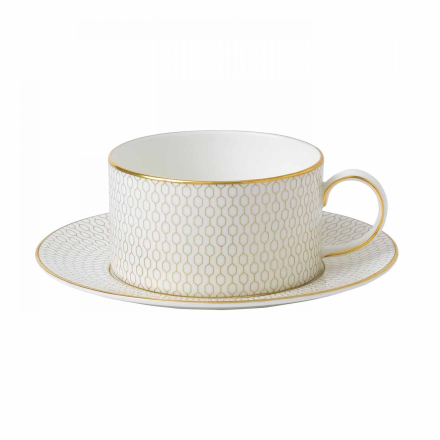Wedgwood Arris Tea Cup and Saucer