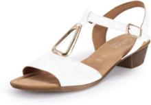 Sandaler metalldetalj från Gabor Comfort vit