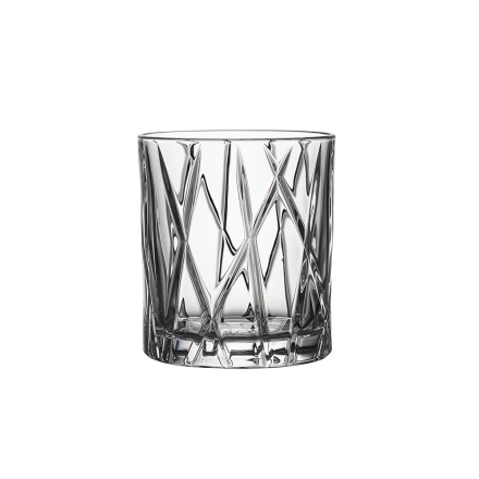 Orrefors City Whiskeyglass 25 cl 4stk