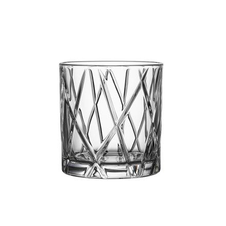 Orrefors City Whiskeyglass 34 cl 4stk