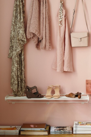 Maze Shoe Shelf L skohylla hvit