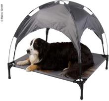 Camp4 hundeseng med solseil