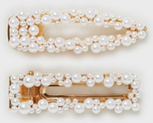 Only Onlcroco Pearl Hairclip 2 Pack Mop