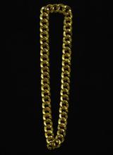 Bling bling guld halskæde